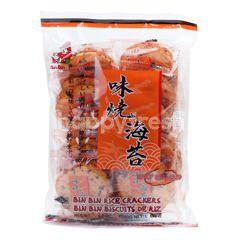 Bin Bin Rice Crackers Spicy Seaweed