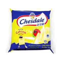 Chesdale Cheese Cheddar Slices (12 Slices)