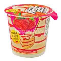 Glico Wings Frost Bite Strawberry Sundae Ice Cream