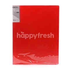 Umoe Red 2D Ring Binder File