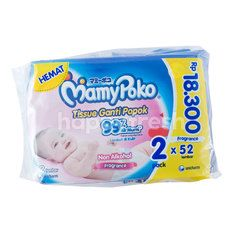 MamyPoko Baby Wipes Non Alcohol, Fragrance, Soft in Skin  99% Pure Water
