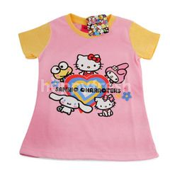 Rak Girls Kaos Anak Sanrio - Hello Kitty