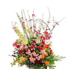 Emme Florist Lunar Year Flower Bouquet - The Big Size