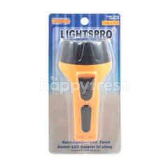 Lightspro Rechargeable LED Light Torch 220V
