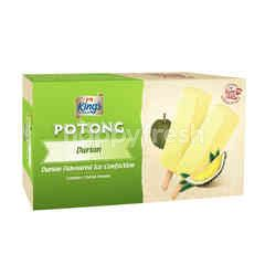 King's Potong Durian Falvoured Ice Cream (6 Pieces)