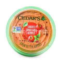 Cedar's Sundried Tomato Basil Hommus