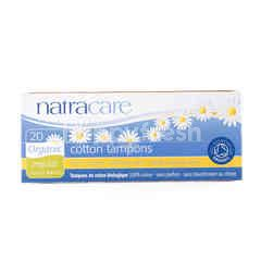NatraCare Regular Cotton Tampons (20 pieces)