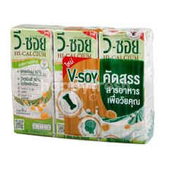 V-Soy Soy Milk Hi-Calcium Low Sugar