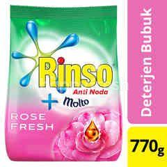 Rinso Anti Noda plus Molto Deterjen Bubuk Aroma Bunga Mawar
