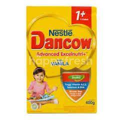 Dancow Excelnutri+ Susu Bubuk Rasa Vanila 1+