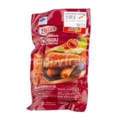 Bangkok Ham Chicken Frank Smoked Crispy Skin Sausage