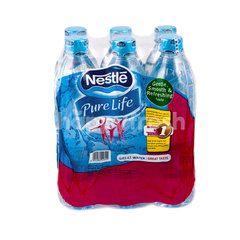Pure Life Air Minum Mineral (6 Botol)