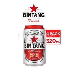 Bintang Pilsener Canned Beer