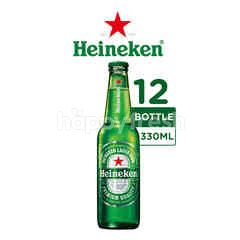 Heineken International Bir Lager Botol 12 Packs