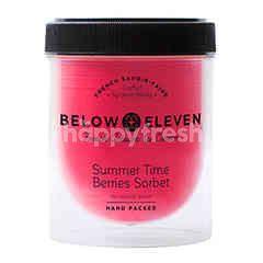 บีโลว อีเลฟเว่น ไอศกรีมกระปุก รสเบอร์รี่ ซอร์เบท 380 มล.