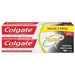 Colgate Total Charcoal Deep Clean Anticavity Toothpaste