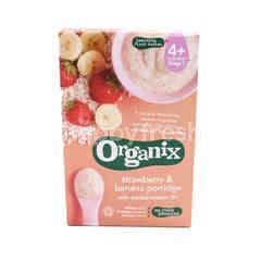 Organix Stage 1 Strawberry& Banana Porridge