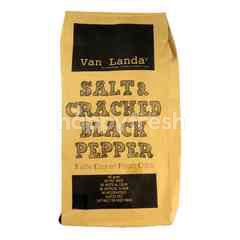 Van Landa Salt & Cracked Black Pepper Potato Chips