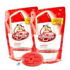 Lifebuoy Sabun Mandi Total10 Twinpack