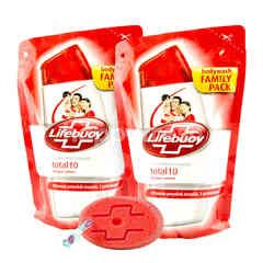 Lifebuoy Total10 Body Wash Twinpack