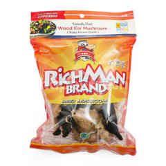 Rich Man Dried Black and White Bokji Mushrooms