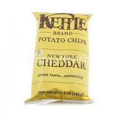 Kettle Brand Potato Chips New York Cheddar