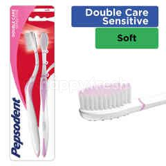 Pepsodent Sikat Gigi Double Care Sensitive