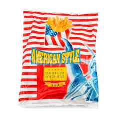 American Style Straight Cut French Fries