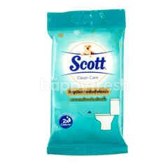 Scott Clean Care Moist Toilet Wipes