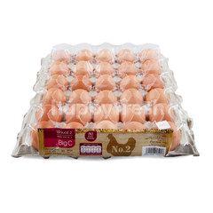 บิ๊กซี ไข่ไก่เบอร์ 2 (30 ฟอง)