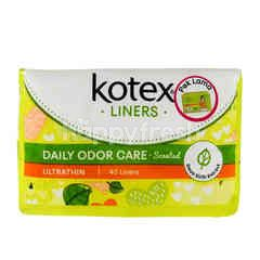 Kotex Fresh Liners Ultrathin 2 In 1 Betel Leaf