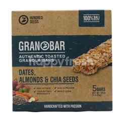 Granobar Dates, Almonds and Chia Seeds Granola Bar