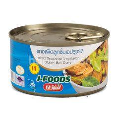 J-Foods Acrid Seasoned Vegetarian Ball Curry
