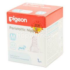 Pigeon Peristaltic Nipple M Hole Slim Neck