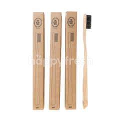 The Olive Tree Bamboo Toothbrush Bundle (3 Pieces)