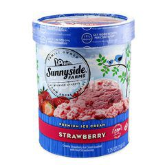 Sunnyside Farms Premium Ice Cream Strawberry