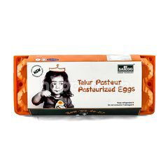 SAFEGG Pasteurized Eggs (10 Pieces)