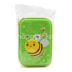Umoe Green Bee Pencil Case