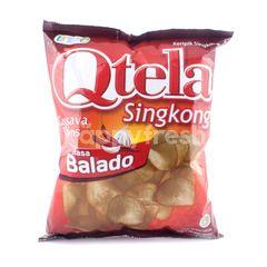 Qtela Cassava Chips Balado