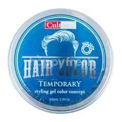 Cultusia Gel Pewarna Rambut Sementara Blue Safir