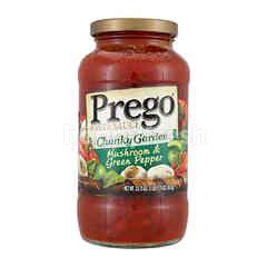 PREGO Chunky Garden Mushroom & Green Pepper Flavoured Pasta Sauce