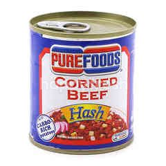 Pure Food Canned Corned Beef Hash