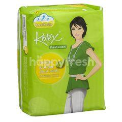 Kotex Fresh Liners Longer & Wider Daun Sirih