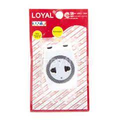 Loyal 3-Way Multi Outlet