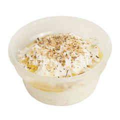 Labneh Soft Yogurt Cheese Dip With Lemon Herbs & Sesame