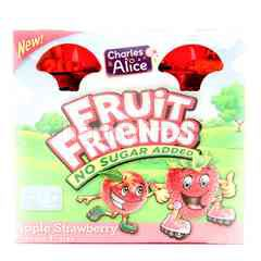 Charles & Alice Fruit Friends Apple Strawberry