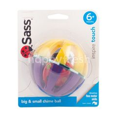 Sassy Big & Small Chime Ball