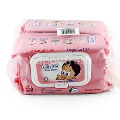 Care Mo Twin Pack Baby Wipes