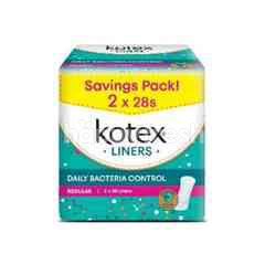 Kotex Fresh Plus Liners Ultra V-Care
