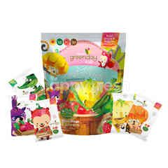 Greenday Kids 5 Colors Crispy Fruit & Veggie